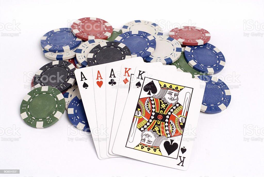 Poker 035 stock photo