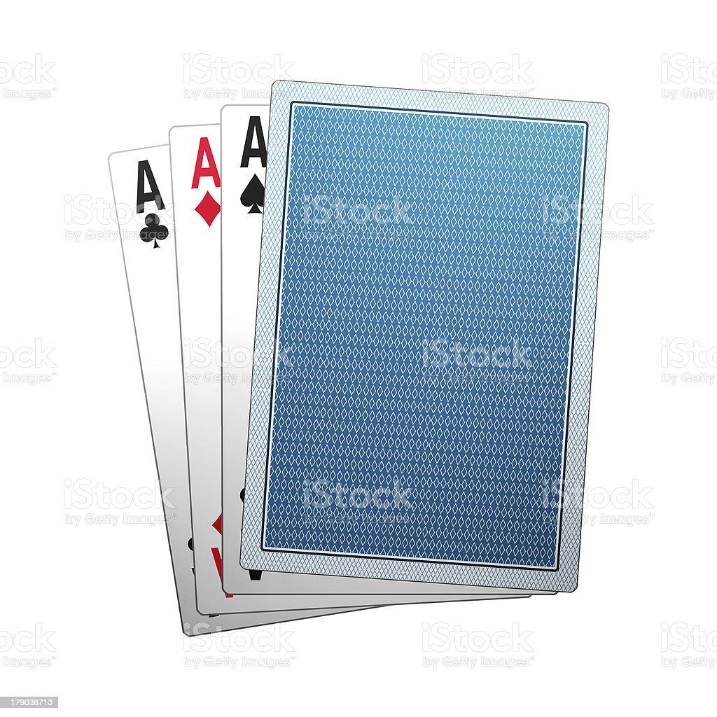 poker cards royalty-free stock photo