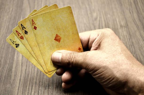 Poker-Karten  – Foto