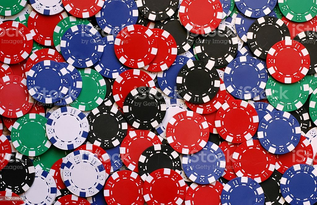 Poker Chip Background royalty-free stock photo