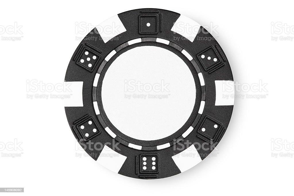 Poker Chip. royalty-free stock photo
