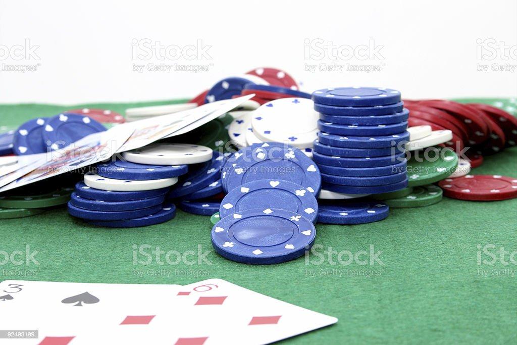 Poker Chips 02 royalty-free stock photo