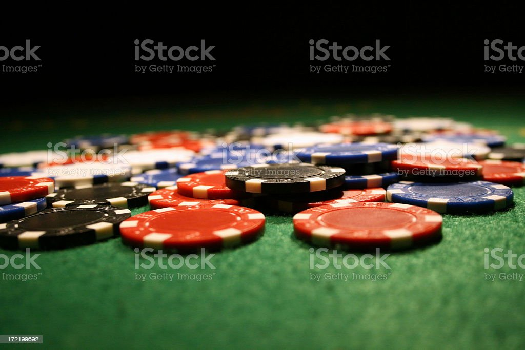 poker night royalty-free stock photo