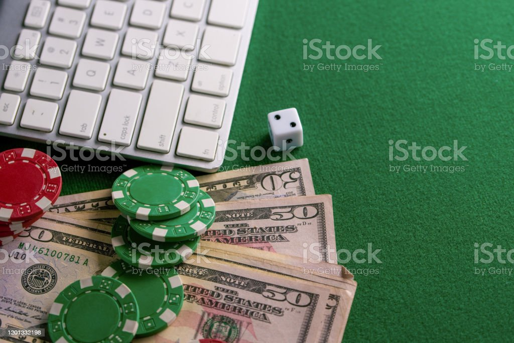 Poker Online Casino Online Gaming Business Chips Cards Money And