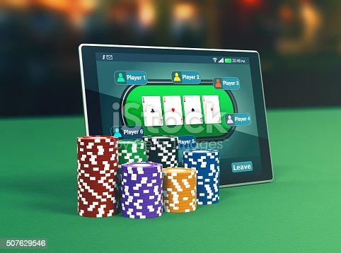 istock poker online 507629546