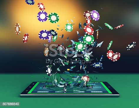 istock poker online 507686540
