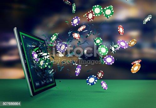 istock poker online 507686664