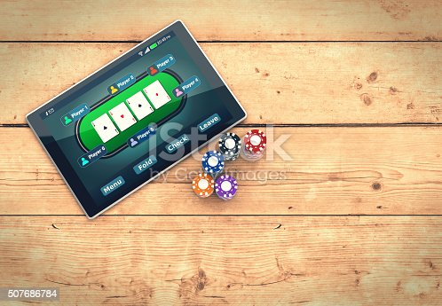 istock poker online 507686784