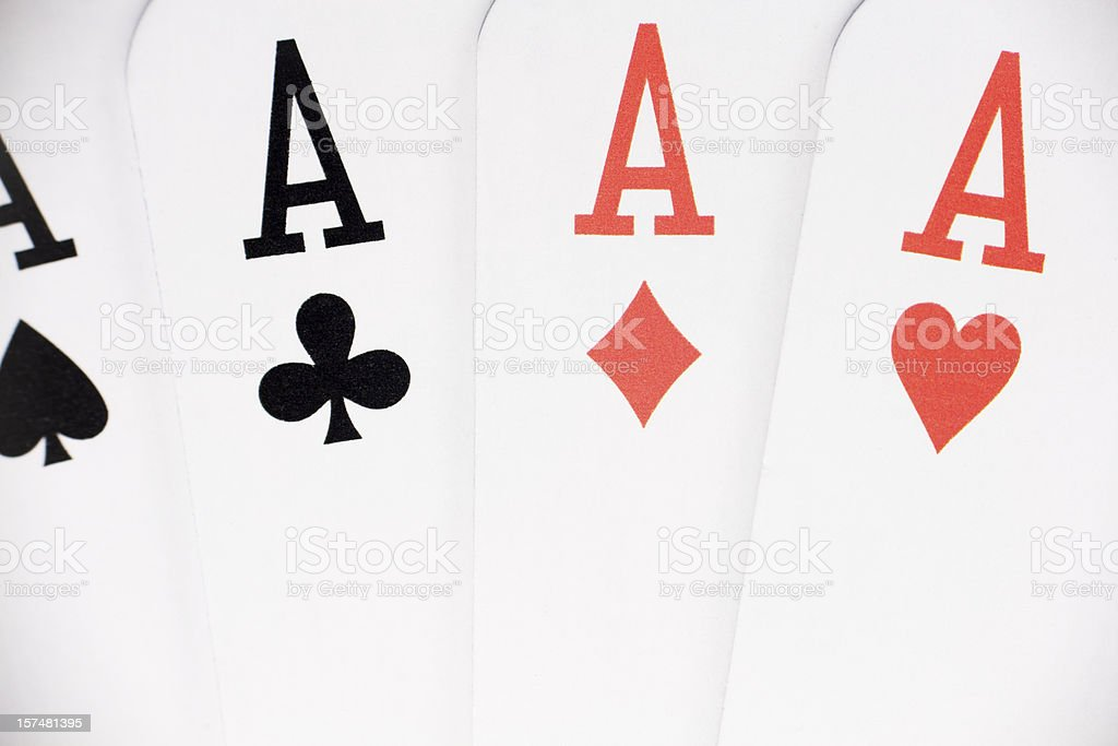 Poker - foto stock
