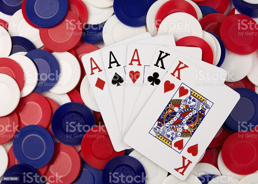 Poker royalty-free stock photo