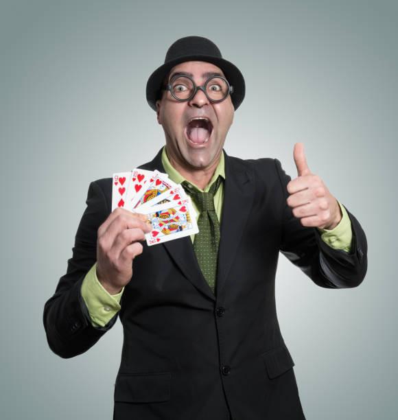 jugador de poker - studioimagen73 fotografías e imágenes de stock