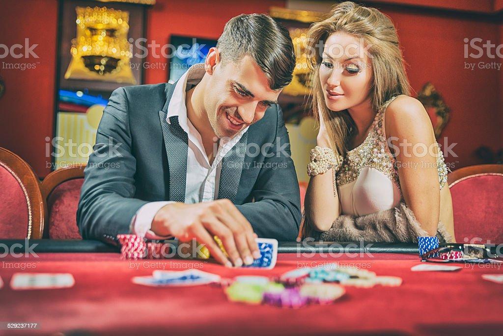 Giocatore di Poker - foto stock