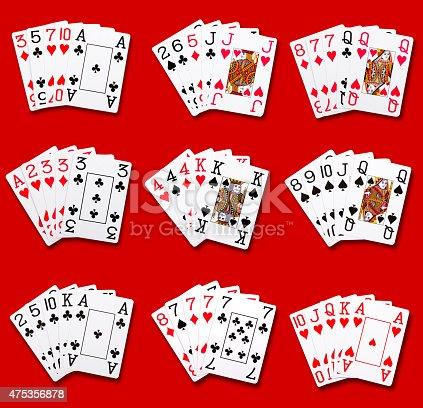 istock Poker rankings 475356878