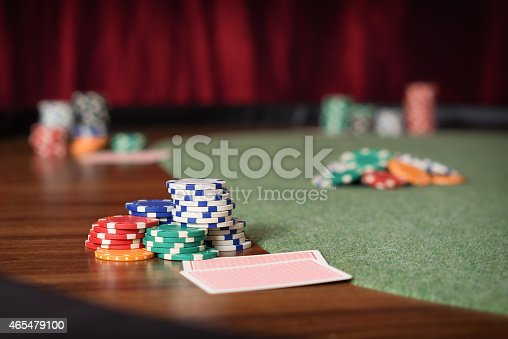 istock Poker Table 465479100