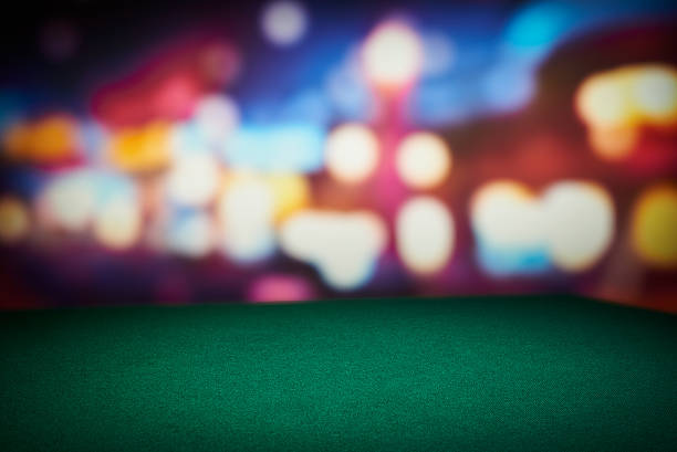 poker table - black jack bildbanksfoton och bilder