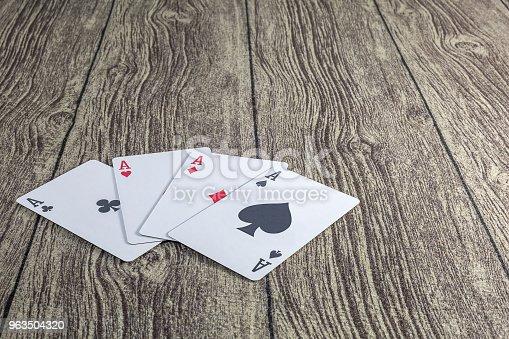istock Poker theme 963504320