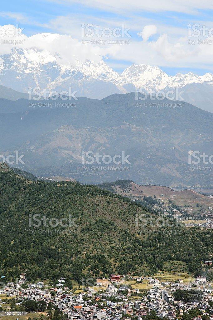 Pokhara royalty-free stock photo