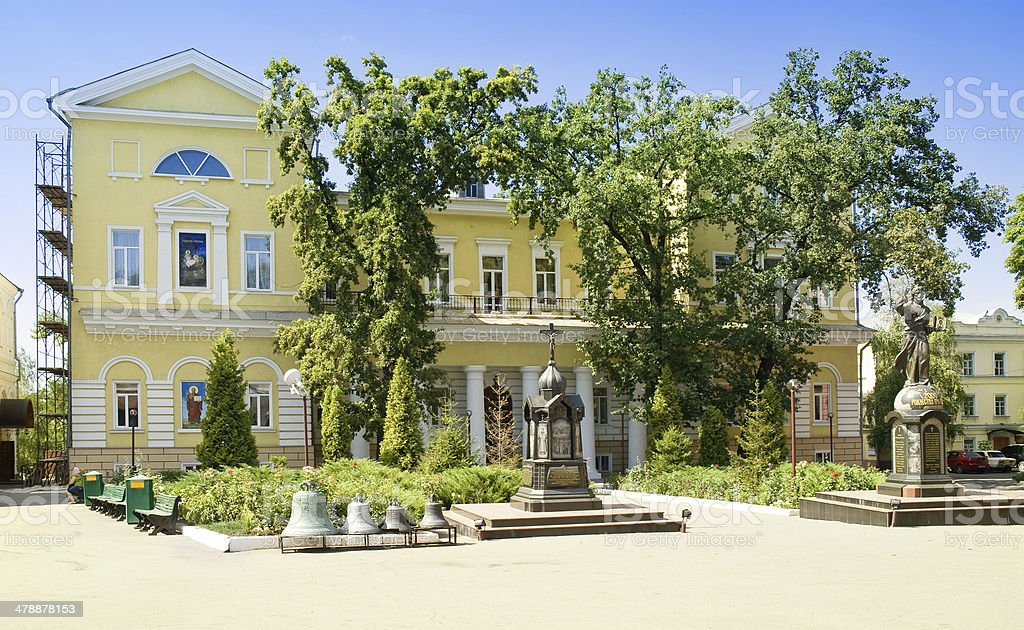 Pokrovsky Monastery stock photo