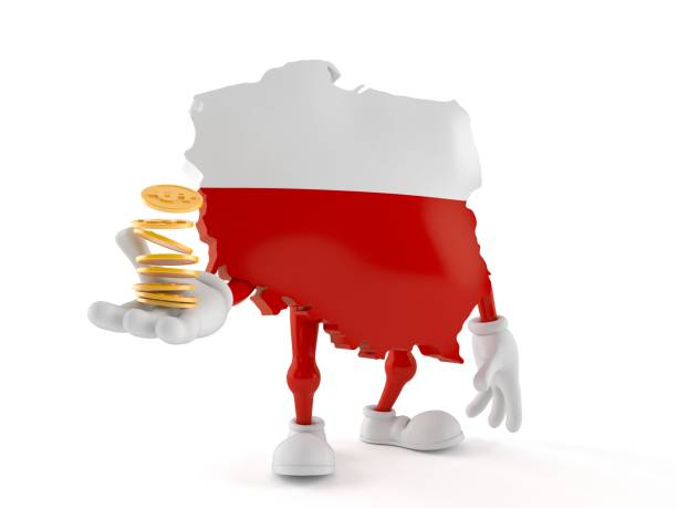 Poland character with stack of coins picture id1153275988?b=1&k=6&m=1153275988&s=612x612&w=0&h=vt8livlzwvpa4ezddxsydbwobkf1b oys3j0dugpkby=