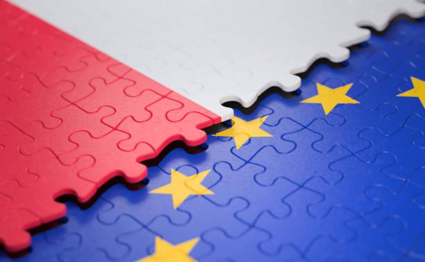 Polen EU-Puzzle-Flagge – Foto