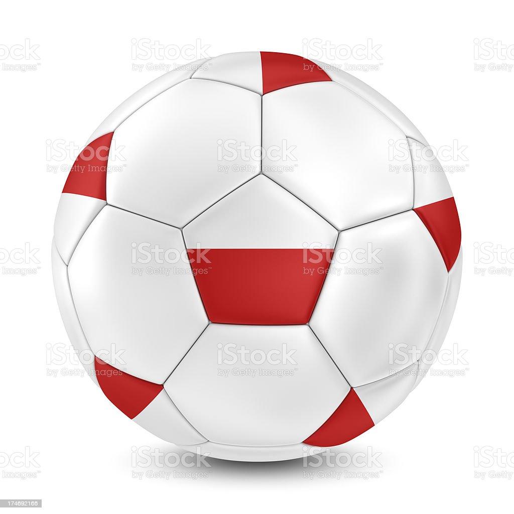 poland football royalty-free stock photo