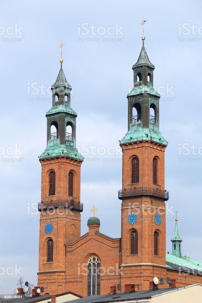 Poland - Piekary Slaskie stock photo