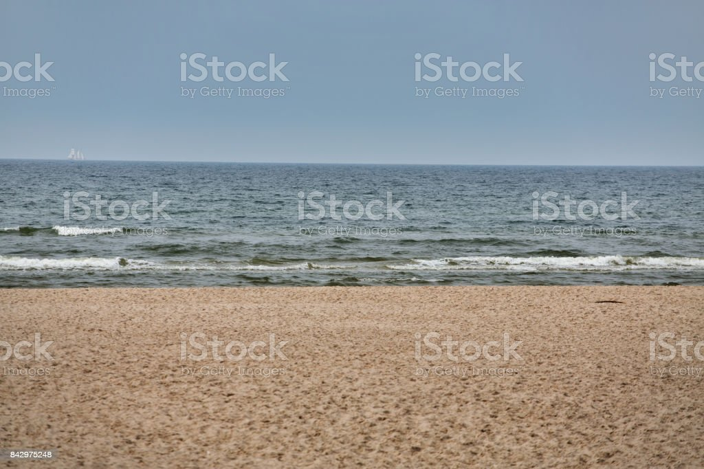 Poland, Slowinski National Park, Baltic sea - Foto stock royalty-free di Ambientazione esterna