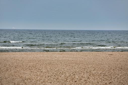 Poland Slowinski National Park Baltic Sea - Fotografie stock e altre immagini di Ambientazione esterna