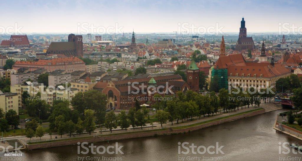 Poland. Wroclaw landscape view. stock photo