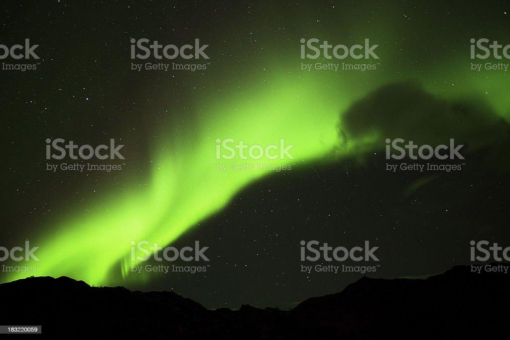 Polar Lights III royalty-free stock photo