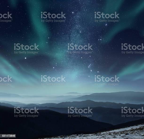 Photo of Polar night