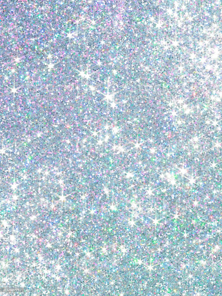 Polarization pearl sequins, shiny glitter background stock photo