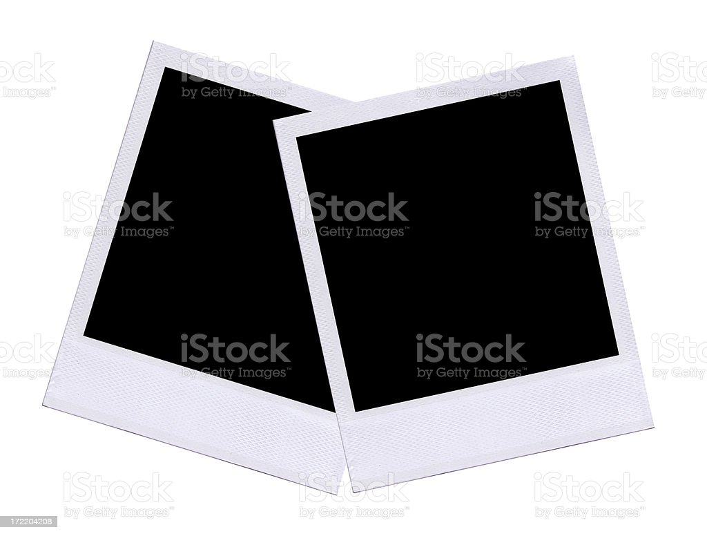 Polaroid Frame Border Overlapping Layout Stock Photo & More Pictures ...
