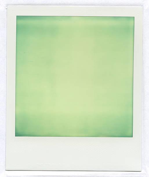 Polaroid Bilder, Hellgrün – Foto
