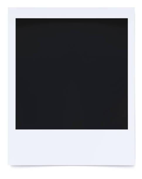 polaroid foto 3d rendering - polaroid stock-fotos und bilder