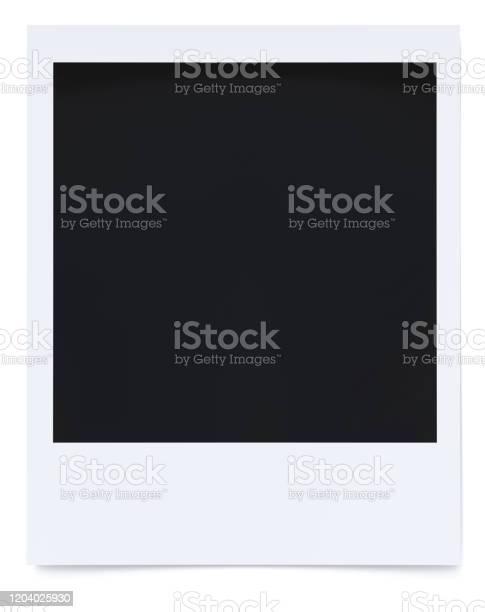Polaroid Foto 3d Rendering Stockfoto und mehr Bilder von Alt