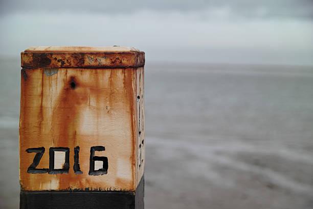 2016-stab im beache - feiertage holland 2016 stock-fotos und bilder