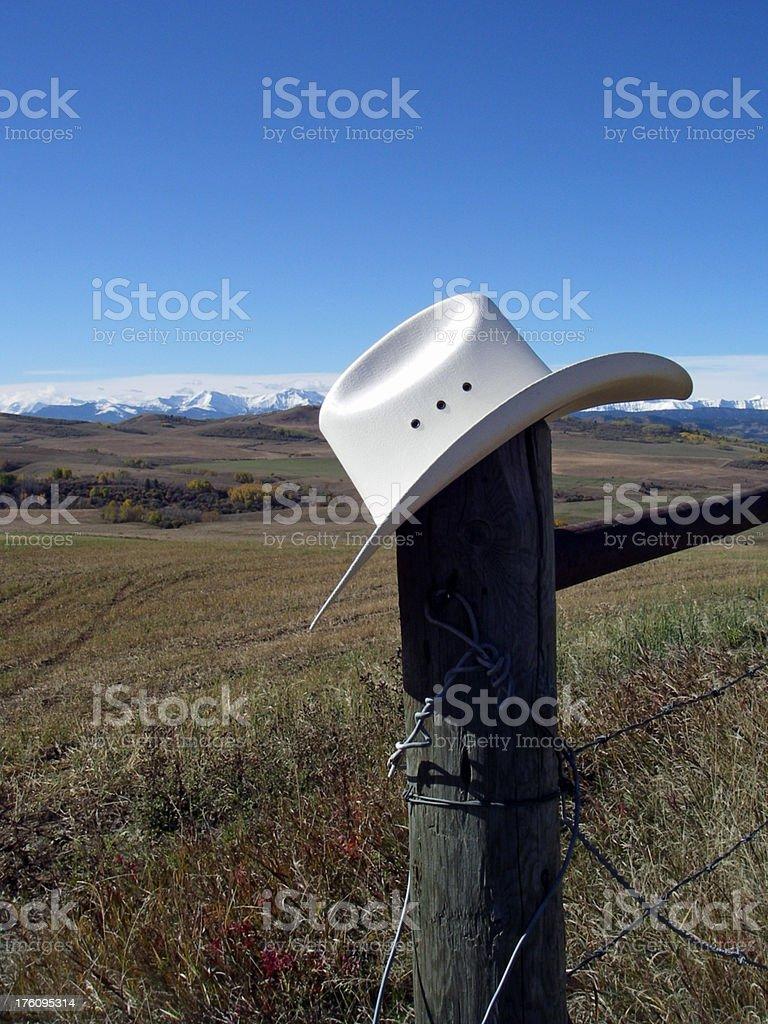 Pole Hat royalty-free stock photo