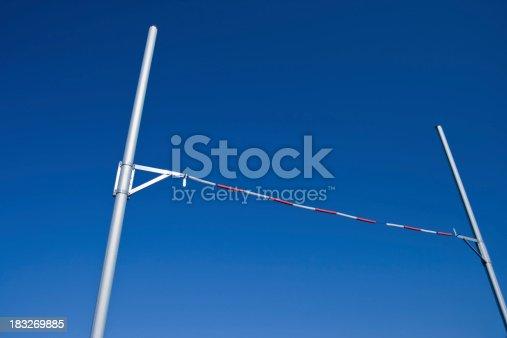 A pole vault cross bar