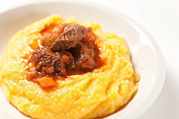 Polenta und stew – Foto