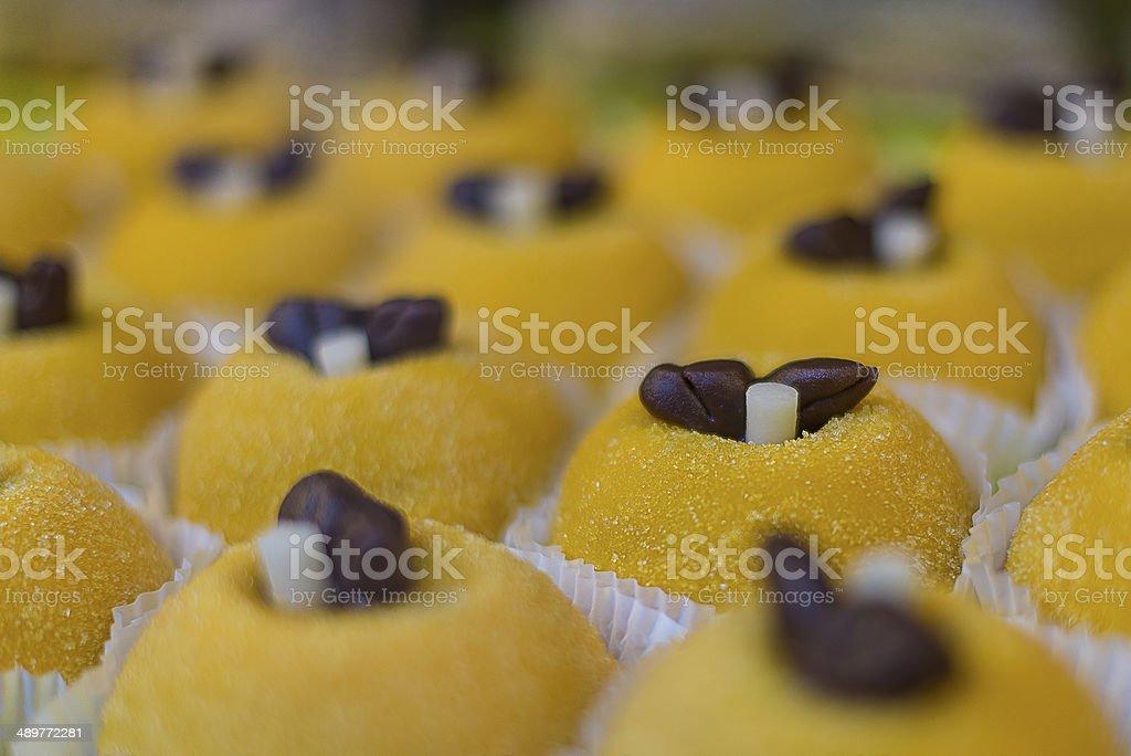 Polenta dolce stock photo
