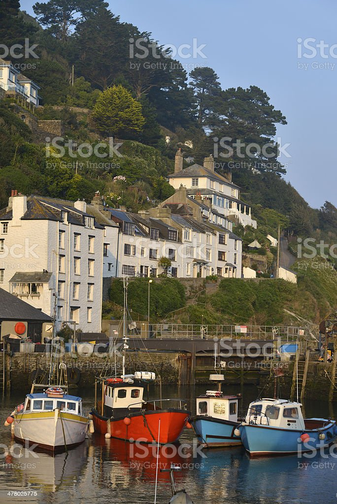 Polerro. Cornwall. royalty-free stock photo
