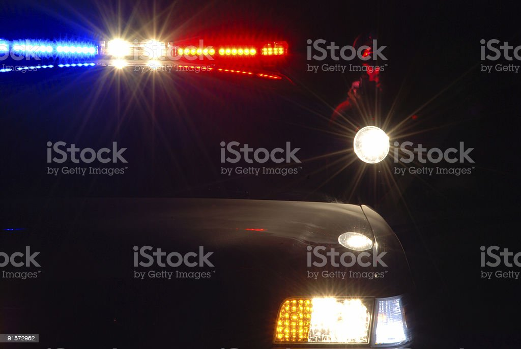 Police authority royalty-free stock photo