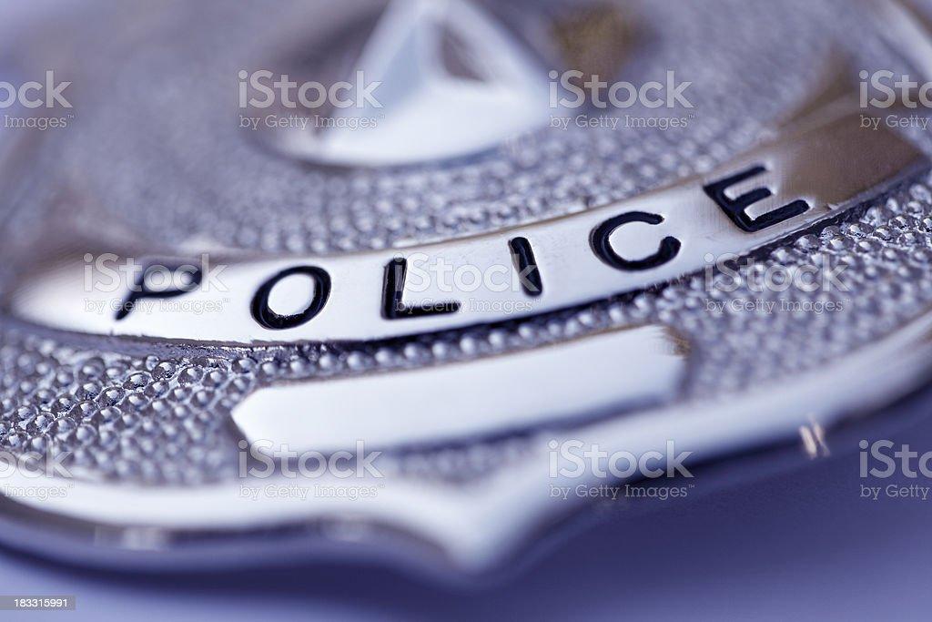 Police Badge royalty-free stock photo