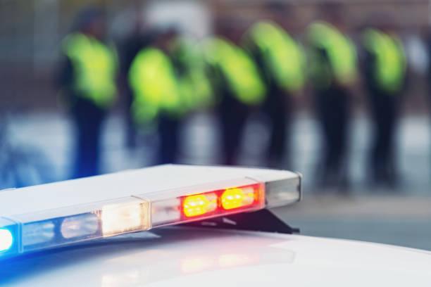 Barricade de police - Photo