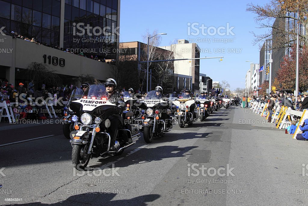 police bikes royalty-free stock photo