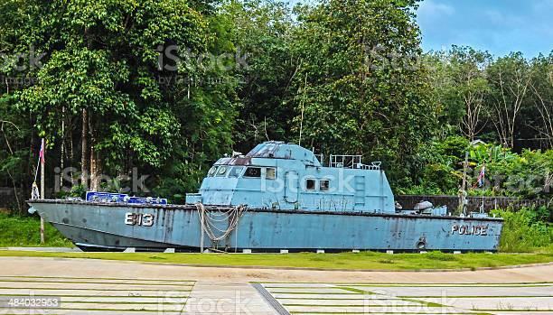 Police Boat 813 at Bang Niang/Khao Lak