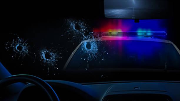 Police shootout - Photo