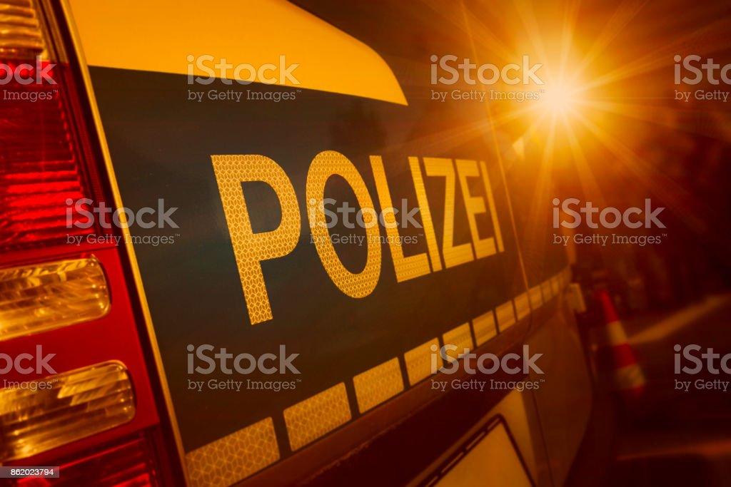 Polizei-Auto in Deutschland – Foto