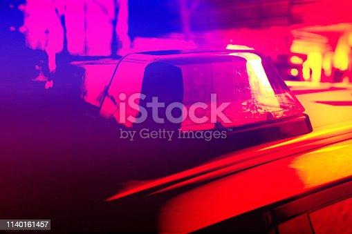 istock Police Car 1140161457